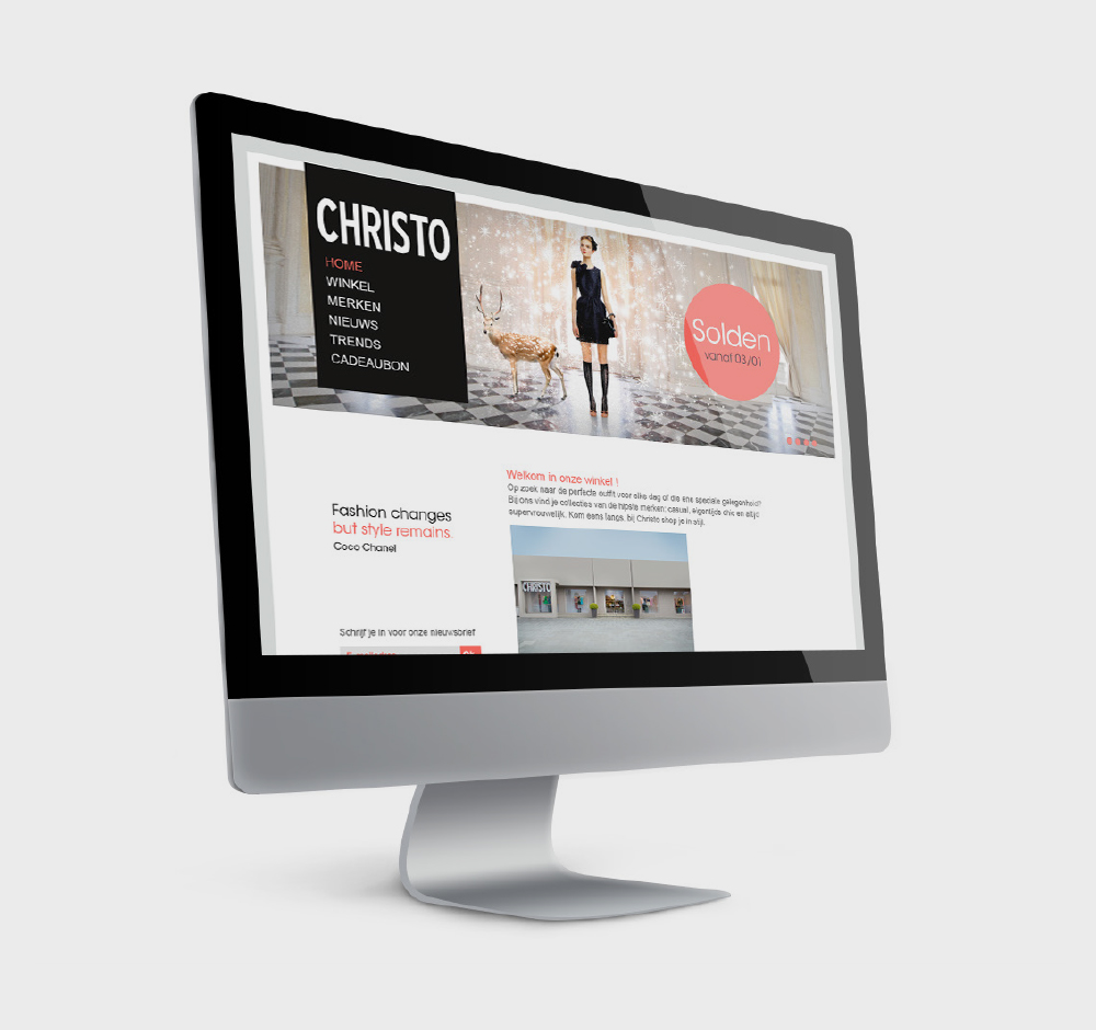 Website Christo