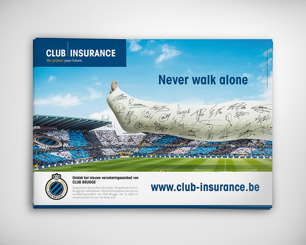 Club Insurance campagnebeeld